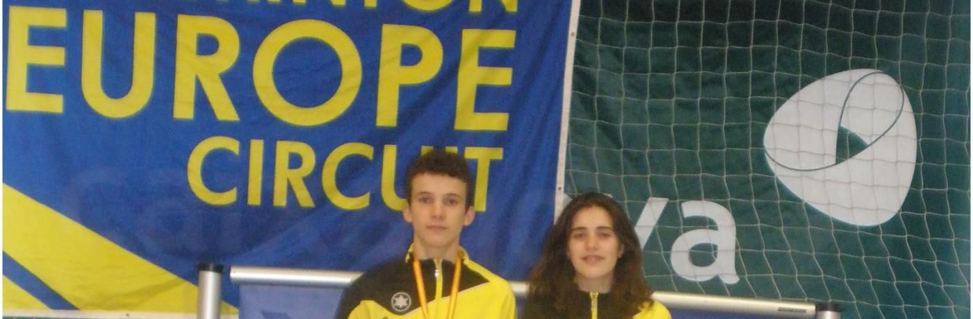 Oro y plata para el Bádminton Vegadeo en los Campeonatos de España sub15